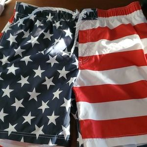 American swim shorts..